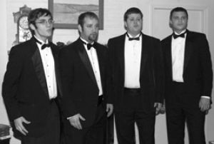 Strike Four a barbershop quartet to be reckoned with