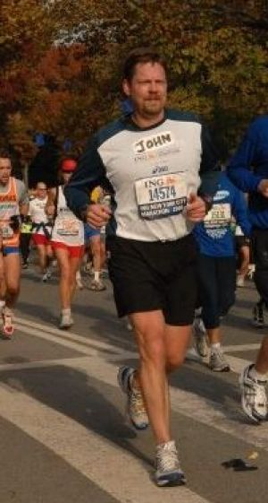 Washburn professor competes in New York City Marathon for second time