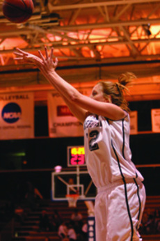 Brooke Ubelaker was one of five Lady Blues to make the 2000-2009 womens basketball all-decade team.