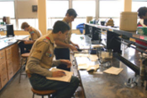 Boy Scout merit badge conference hosted on campus
