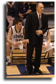 Head coach Bob Chipman helped Washburn basketball become solidified as one of the premier men's basketball programs in the MIAA during the past decade.