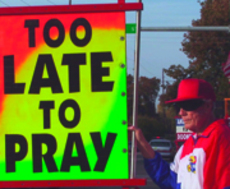The+Westboro+Baptist+Church+and+their+infamous+signs+have+been+documented+in+%22Fall+From+Grace%2C%22+a+film+by+KU+film+student+Ryan+Jones%0A