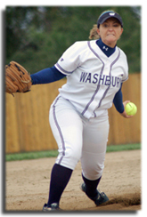 Game+face+Megan+Kimerer%2C+freshman+pitcher%2C+gets+ready+to+serve+up+another+pitch+against+Park+Thursday+afternoon.%0A