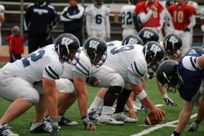 Face-to-face The Ichabods faced off against their own teammates in a scrimmage Saturday afternoon at Yager Stadium as a wrap-up to the spring practices. Nearly 400 fans were present to watch the Washburn offense and defense square off.