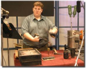 KTWU broadcasts old school radio show, tells tales of Poe