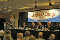 Big oil speaks with Topekans to grease the gears of change