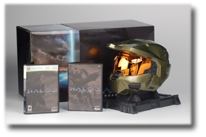 Ultimate gamers package Halo 3 has been one of the most successful launches of any video games in past decade. With three packages to choose from, most gamers have had Halo 3 Legendary edition on reserve for more than a year.