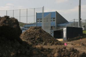 Falley Field undergoing substantial facelift