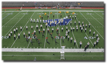 Gangsta beats The Washburn Fighting Blues Marching Band jazzes up its halftime show with a collection of gangster jazz songs. The Fighting Blues will perform Wednesday after the high schools have competed.