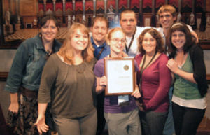 Washburn student newspaper honored with national award