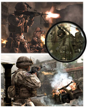 'Call of Duty' deploys to modern day battlefields