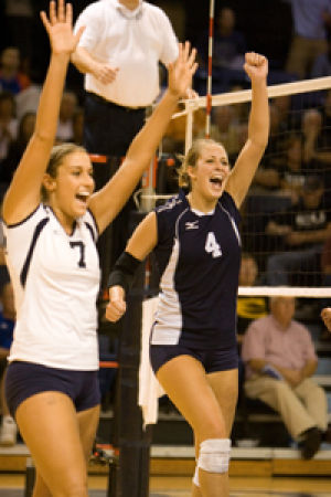 Volleyball+team+advances+out+of+South+Central+Region+with+four-game+win+against+Truman+State