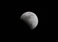 Moon over Topeka Hopeful lunar-gazers were somewhat disappointed Wednesday as the total lunar eclipse visible from North America was hidden because of cloud cover.