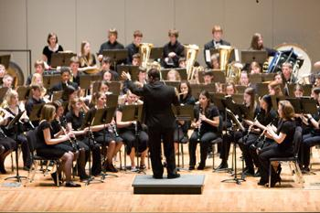 High school bands compete at Festival in White Concert Hall