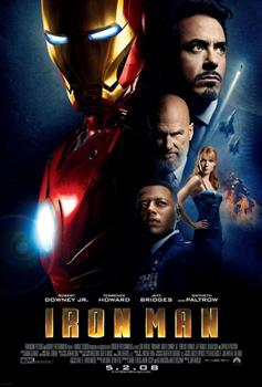Iron theatrics Iron Man made his theatrical debut on May 2. So far, Iron Man has grossed more than $177 million dollars in the US and nearly $300 million worldwide.