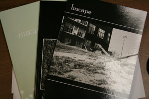 Inscape magazine, the campus literary magazine, is on its way to becoming a nationally read publication. The magazine is already receiving submissions from across the country, including one from a Washburn grad in California.