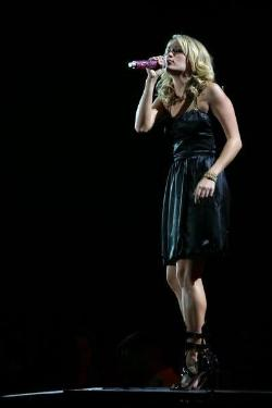Carrie+Underwood+headlined+the+event+Tuesday+at+the+Kansas+Expocentre.%0A