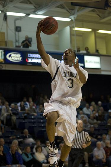 Guard Mario Scott led the Ichabods in minutes with 31, while collecting three points and three assists.