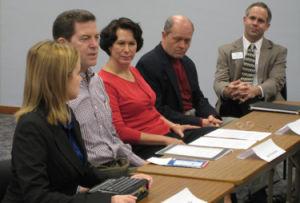 Department of social work hosts Brownback, forum on adoption