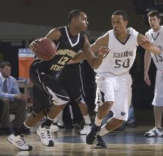 Moores problems James Williams and the Ichabods had a hard time stopping Emporia State's Robert Moores, allowing the guard to score 21 and lead the Hornets to a win.