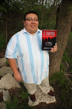 WU student Romualdo Chavez publishing vampire book