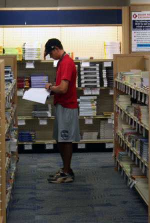 Bookstore introduces textbook rentals