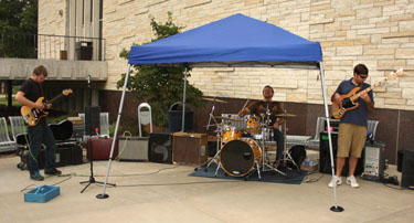 Brody Buster Band rocks Scorch on the Porch