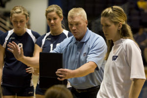 WU volleyball focusing on Hays, then Emporia