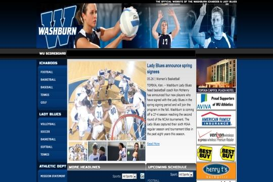 The old design for wusports.com, Washburn's official athletics website, is undergoing a change after two years. The redesign is set to be launched Friday morning.