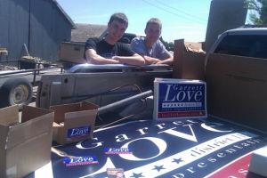 Former WSGA president Love campaigning for Kansas Houses of Representatives