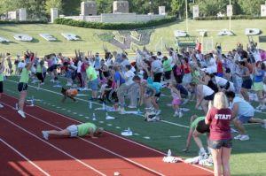SLIDESHOW%3A+Yager+Stadium+hosts+Shawnee+Countys+Largest+Workout