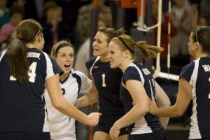 Lady Blues volleyball picked 2nd in MIAA preseason poll