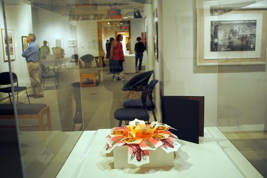 Library+Art+Blooming+The+flower+print+is+one+exhibit+of+the+Alice+C.+Sabatini+Museum+located+inside+the+Topeka+and+Shawnee+County+Public+Library.+The+museum+is+one+facet+of+the+library%E2%80%99s+many+facilities+available+to+the+public.%0A