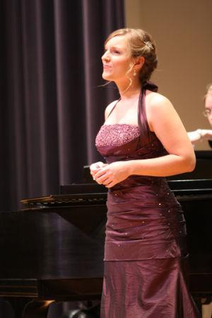 Charles looks back on final Washburn recital