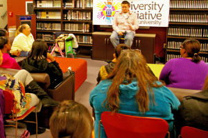 Storytelling event brings awareness to life events