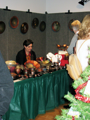 "Friends of the Mulvane Art Museum, Inc. women's board hosted ""Mulvane Merriment,"" an event to support the Mulvane Art Museum and to provide scholarships for art students."