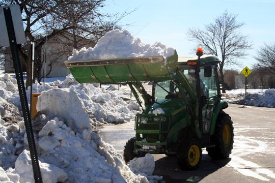 Last year, Washburn spent over $70,000 on snow removal during a State of Disaster Emergency. This year, Washburn is set to spend nearly the same amount thanks to heavy amounts of snowfall.