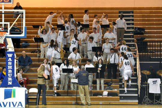 Pep band director reportedly no longer with Washburn University