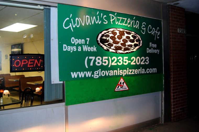 Moving day Giovani's Pizza has moved into its new home at 1505 S. Kansas Ave. Along with the move, Giovani's has expanded their menu options.