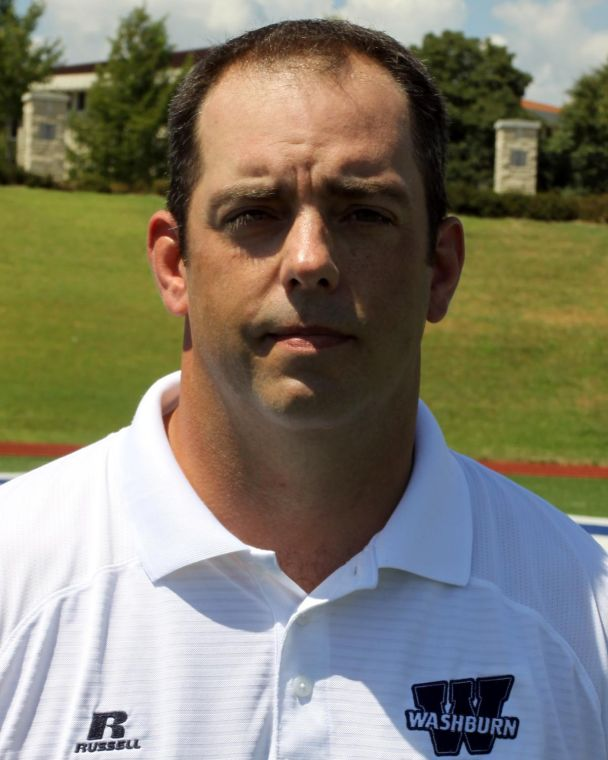 New territory The Washburn Ichabods new defensive coordinator, Cooper Harris, is ready and excited to take on the his new role next season. Harris defense shared the responsibilities with Chris Brown last season as the co-defensive coordinator. Photo courtesy of Washburn Sports Information.