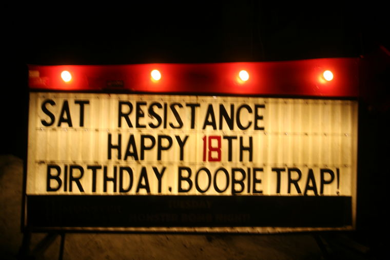 Happy+18th+The+Boobie+Trap%2C+6th+and+Washburn%2C+has+been+a+staple+in+the+local+music+scene.+Owner+Brian+Chambers+hopes+to+make+his+bar+a+positive+place+for+musicians.%0A