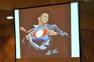 Jewett speaks on modern super-heroic fantasy ideals in America