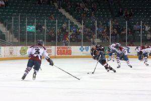 Overtime goal propels Ice Dogs past RoadRunners