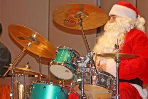 Santa+visits+percussion+concert