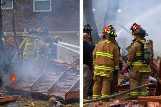 Under+Fire+Firemen+fight+the+blaze+that+consumes+a+house+at+the+1900+block+of+S.W.+Navajo+Road.+The+fire+was+caused+by+a+natural+gas+explosion+on+Monday+morning.+Lucinia+Tolliver%2C+81%2C+was+at+home+when+the+exposion+shook+her+house.+She+was+in+serious+condition+and+airlifted+to+The+University+of+Kansas+Medical+Center+in+Kansas+City%2C+Kan.+She+was+in+stable+condition+as+of+Monday+evening.%0A