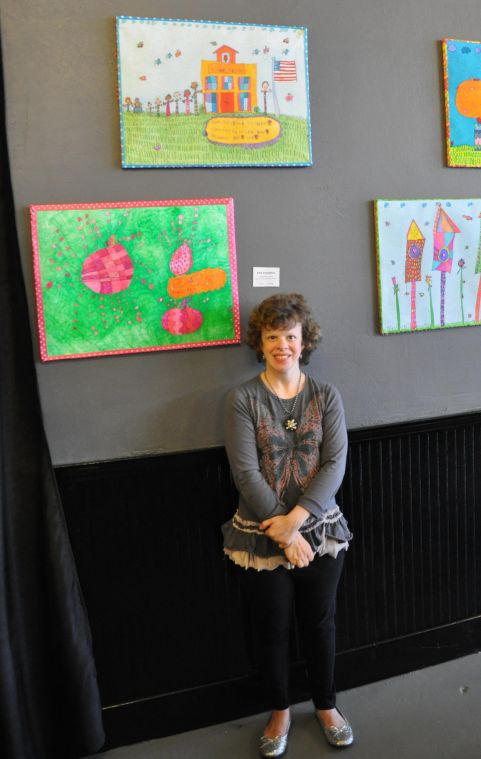 Inspired+Artist+Jenny+Unrein+doesn%27t+let+William%27s+Syndrome+stop+her+from+creating+art+to+raise+money+for+cancer+research+efforts.%0A