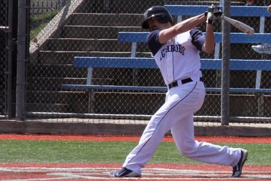 Big bat Senior third baseman John Calhoun is one of the most touted infielders on the Ichabods.