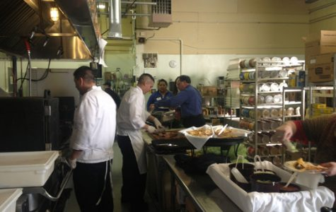 Aboud's caters from their kitchen