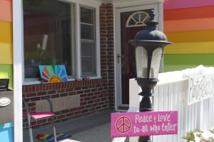 Rainbow house fights WBC with love