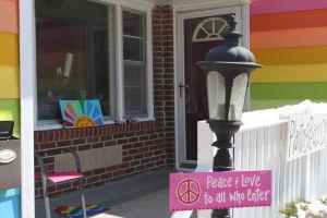 Rainbow house fights WBC with love